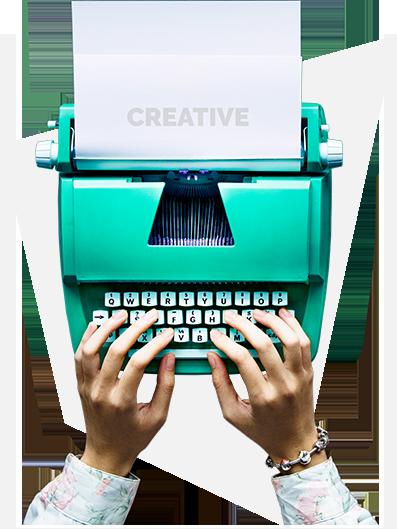 kreatywne treści na stronę www