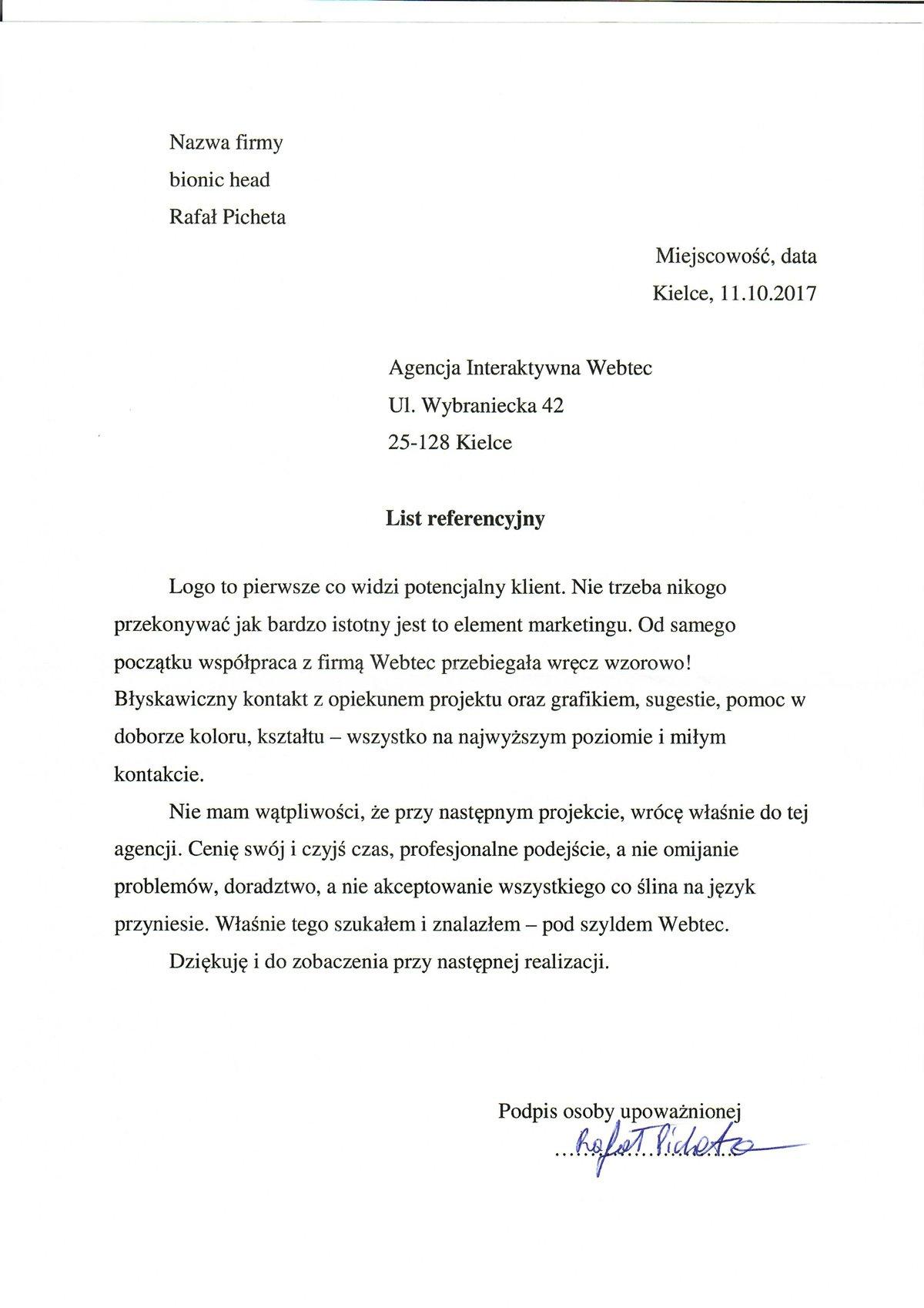 webtec referencje 2
