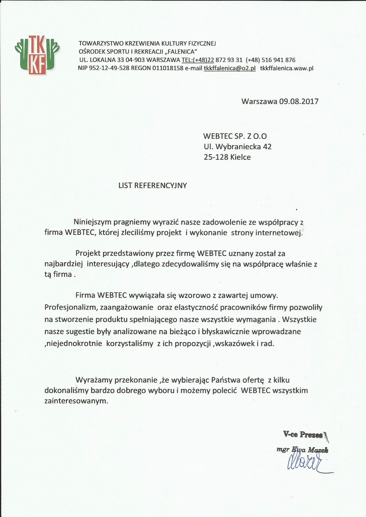 webtec referencje 3